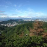 鵯越駅から菊水山〜摩耶山〜新神戸