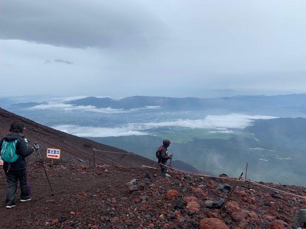 富士山 富士宮ルート 登山