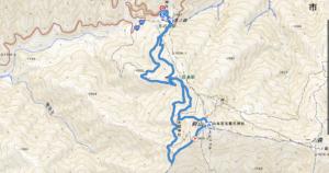 剣山 地図