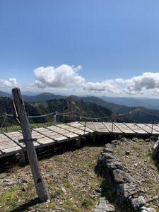 剣山 登山