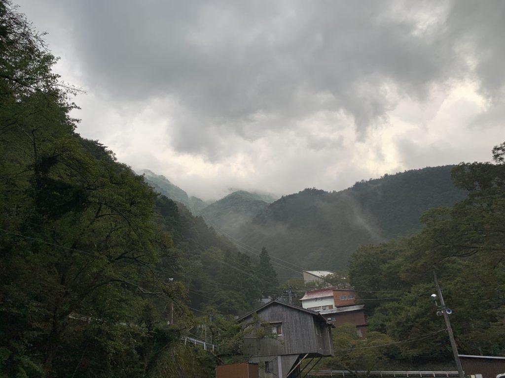 石鎚山 登山