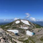 荒島岳・白山1泊2日登山旅行 2日目は白山を登ります